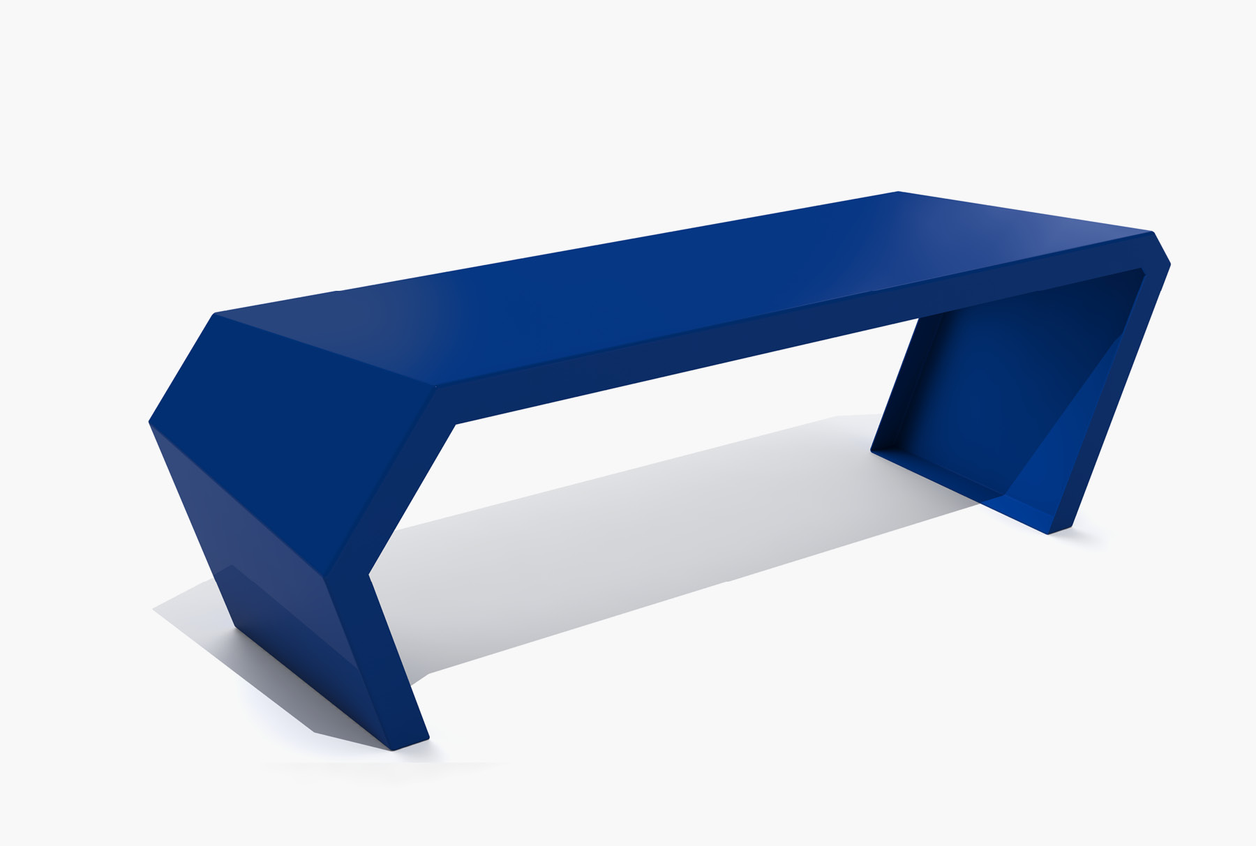 Arktura Pac Bench in Baltic Blue
