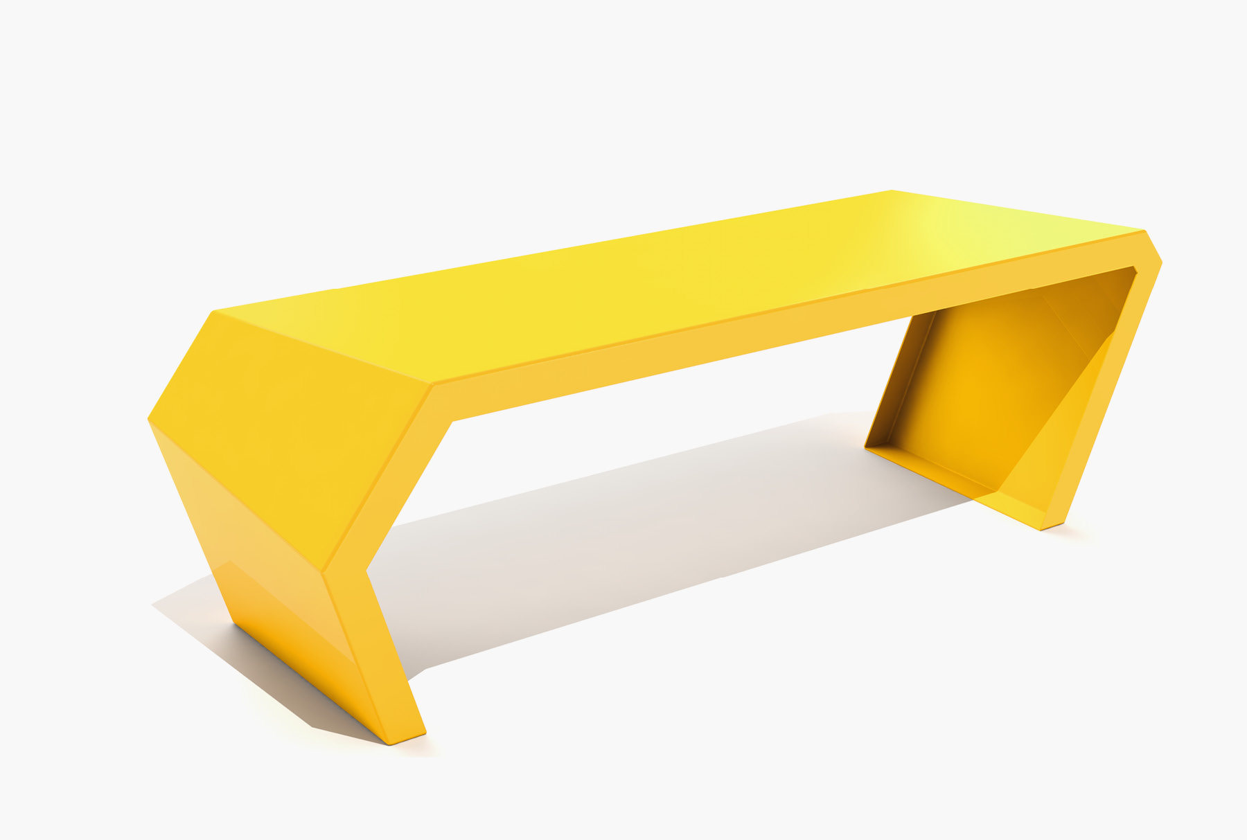 Arktura Pac Bench in Bright Sun