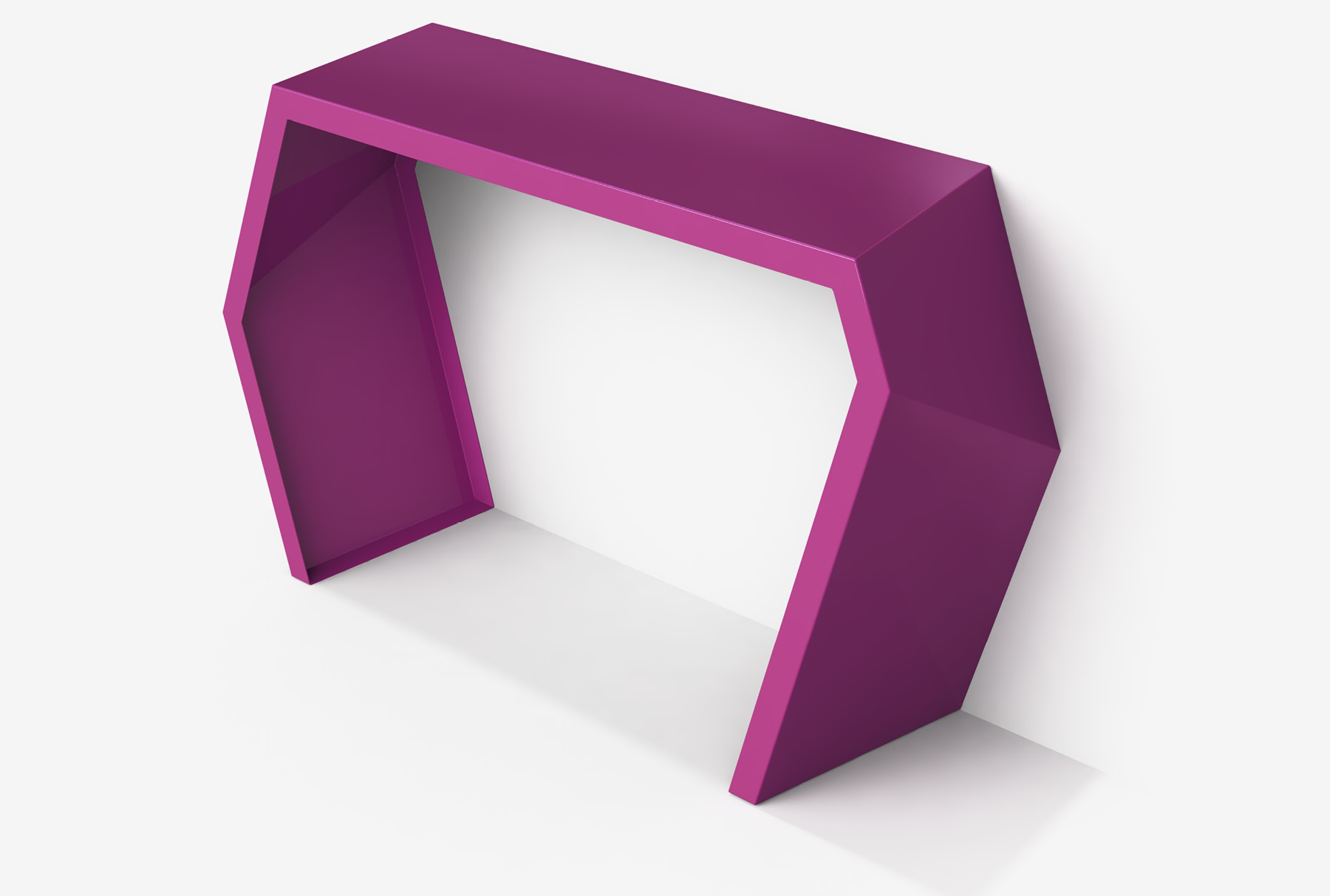 Arktura Pac Console in Wild Orchid