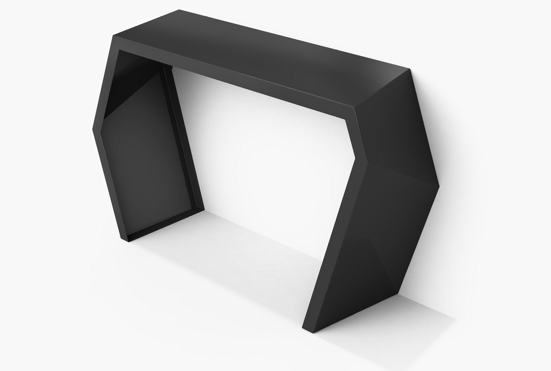 Arktura Pac Console in Jet Black