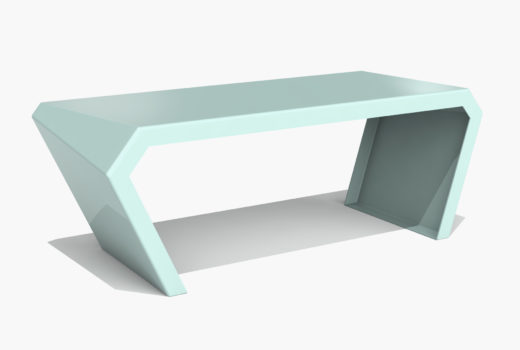 Arktura Pac Desk in Sea Green