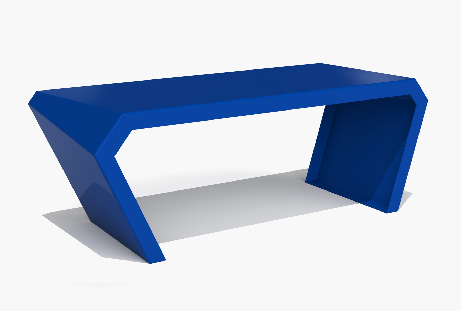 Arktura Pac Desk in Baltic Blue