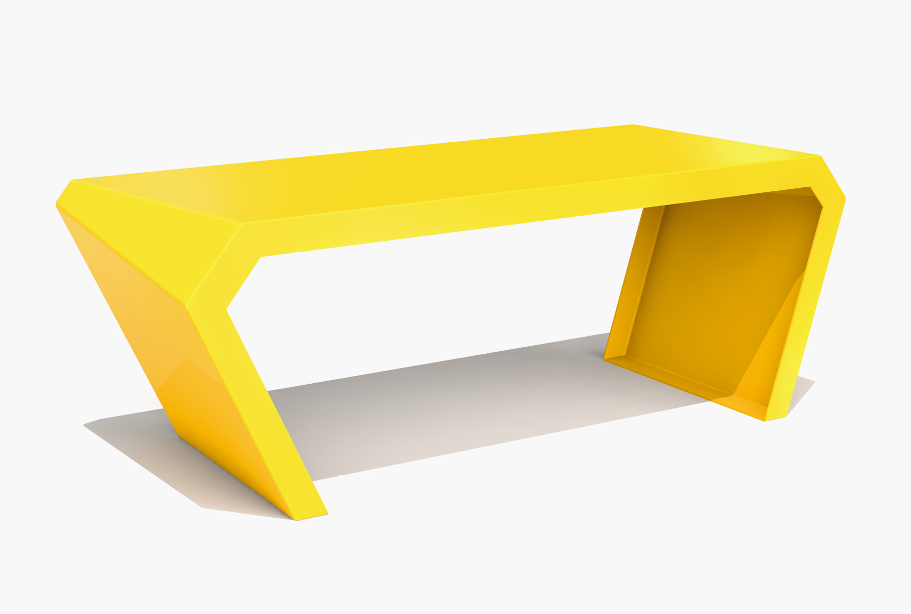 Arktura Pac Desk in Bright Sun