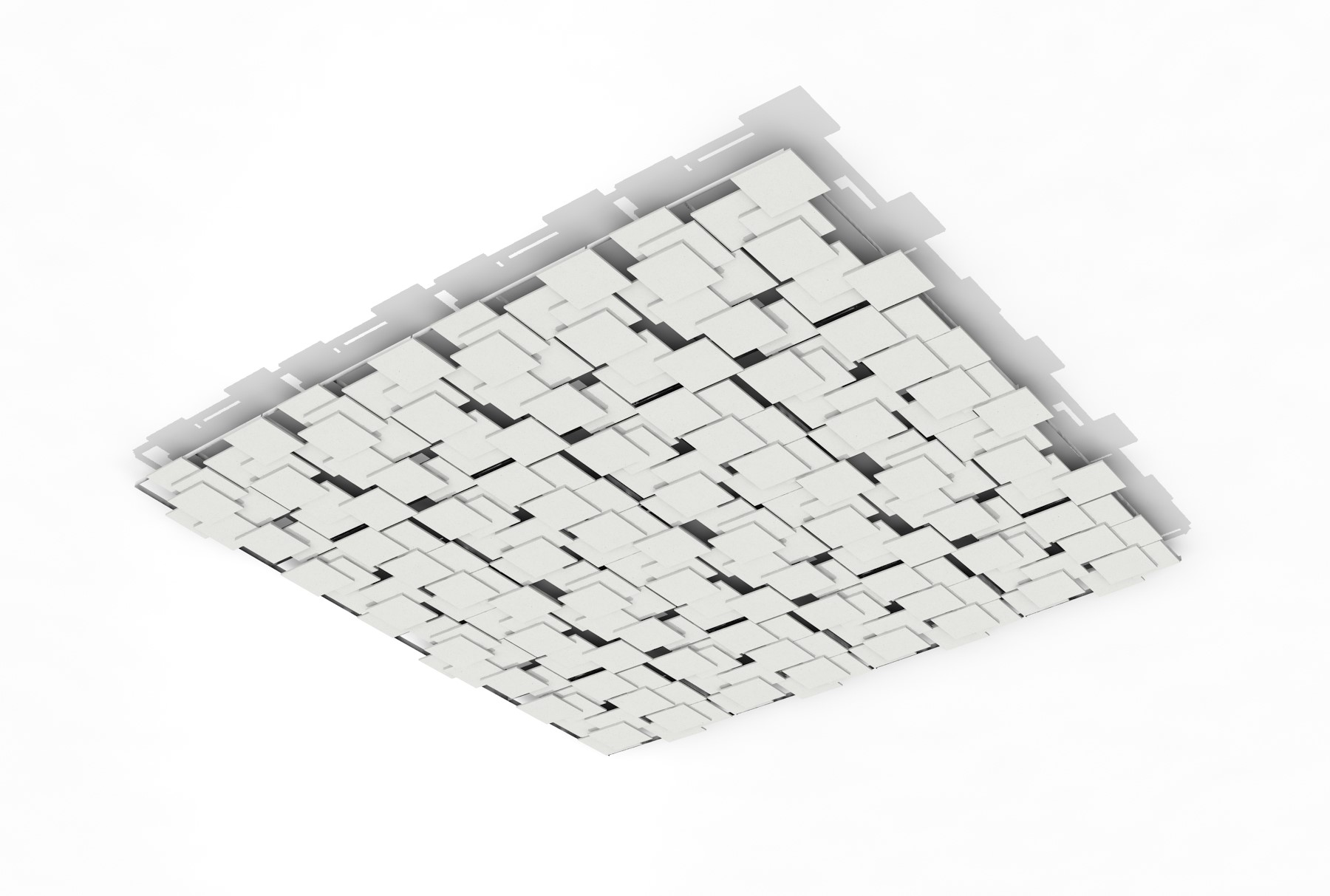SoftPlanes® acoustical system white planes