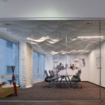 Arktura Atmosphera® Analog 3D installed in conference room