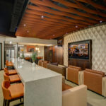 Arktura Atmosphera® Ripple installed in UT Volleyball lounge