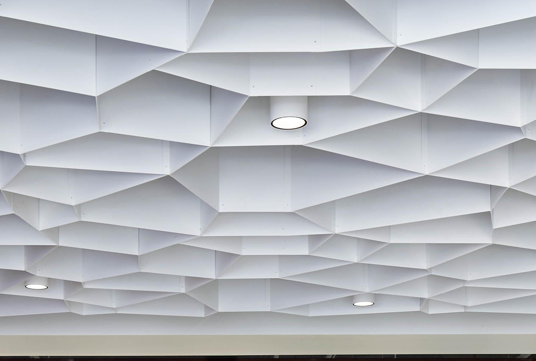 Close up of Arktura Atmosphera® Pulse installed in HGA Office