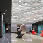 Arktura Atmosphera® Pulse in lobby