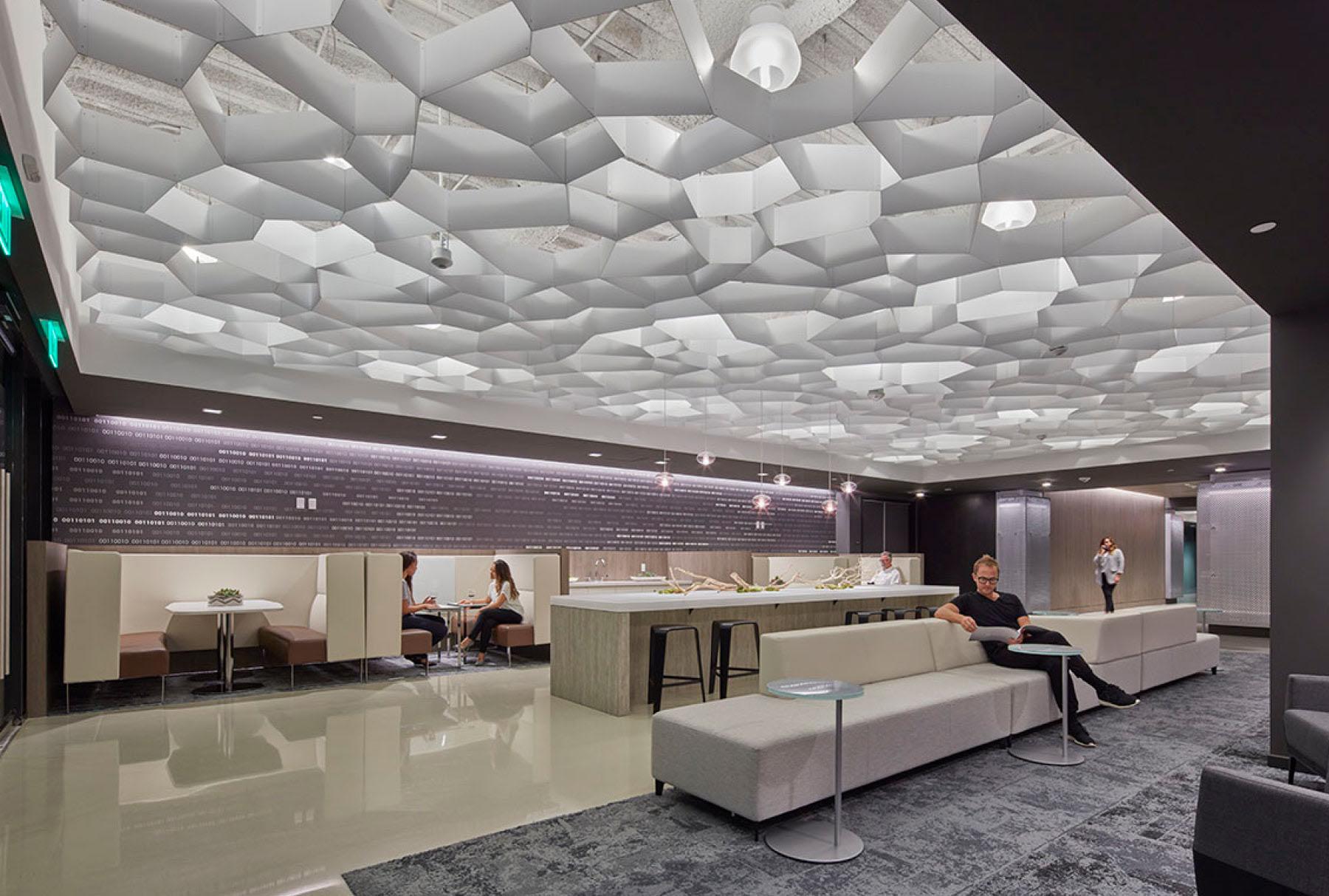 Arktura Atmosphera® Pulse installed in lobby.