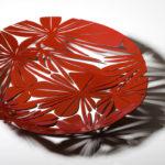 Arktura Bloom Bowl in Spirit Red