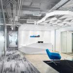 Arktura Atmosphera® Pulse installed in Media Ocean office lobby