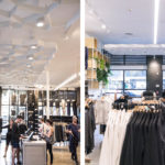 Arktura Atmosphera® Pulse installed in Lululemon store