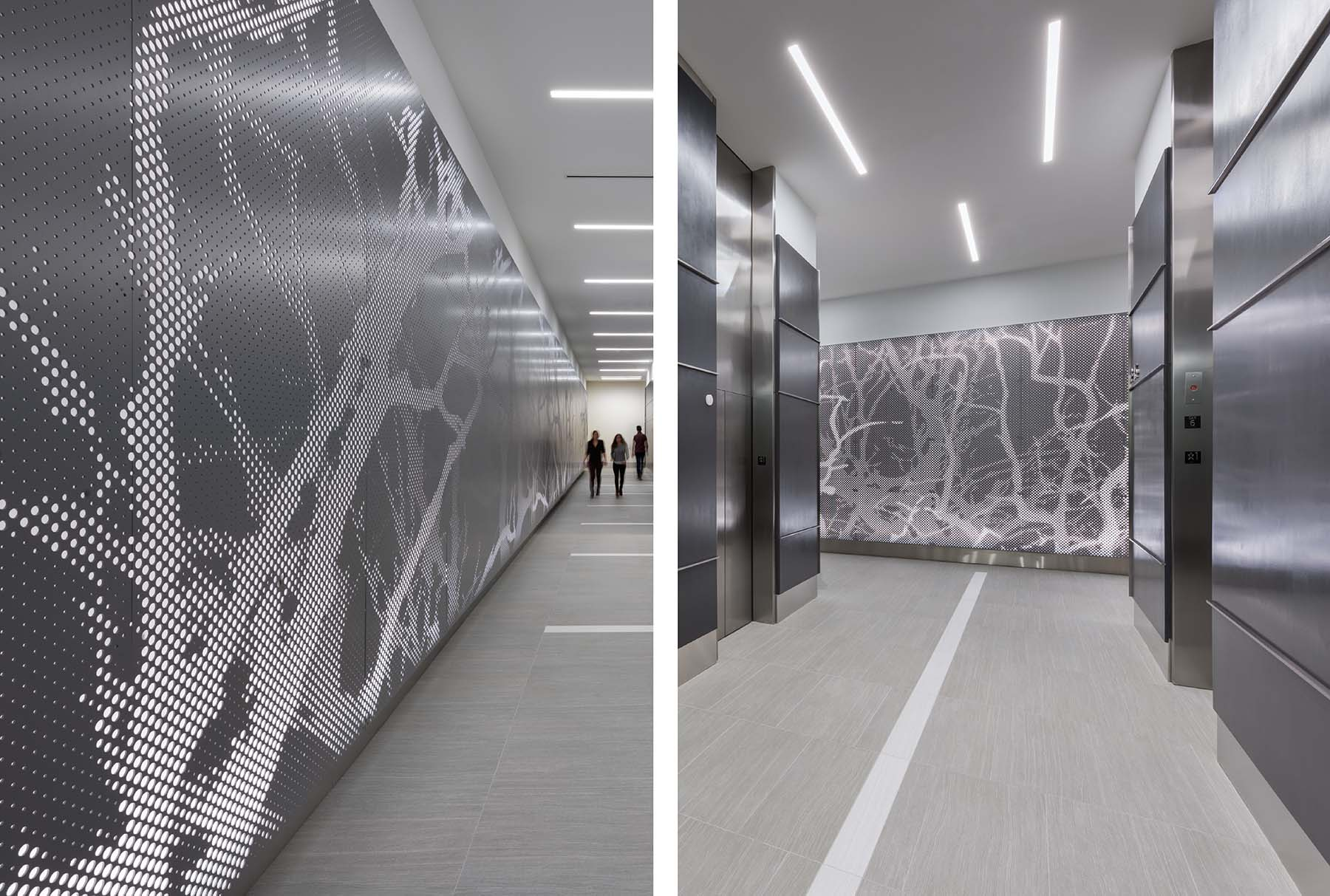 Arktura Graphic Perf® Photoreal Interior in lobby