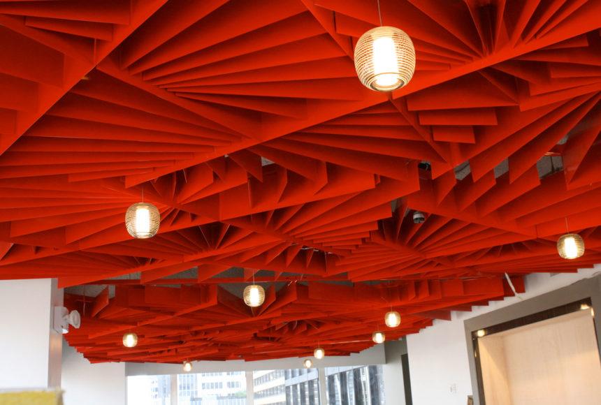 Arktura Atmosphera® Lotus in red close up