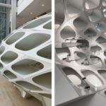 Close ups of Arktura Solution Studio Frame Works Kiosk