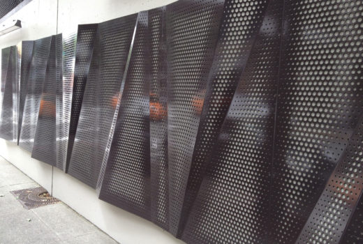 Exterior Metal Wall Panels - Arktura Graphic Perf® Scripted screens