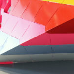 Detail of Moca Pavilion by Elena Manferdini, created with Arktura Solutions Studio