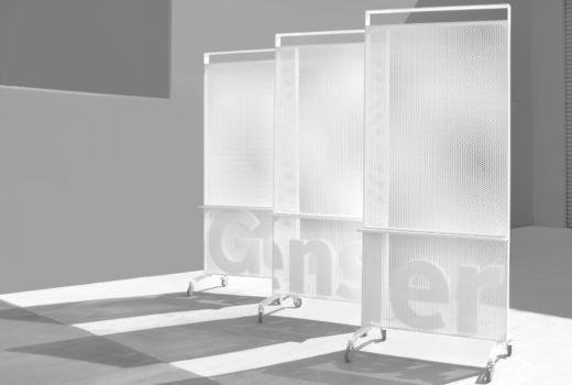Arktura Solution Studio perforated mobile screens for Gensler