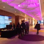 Arktura Atmosphera® Lotus installed in lobby