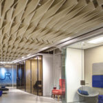 SoftFold®acoustical system installed in Alur lobby