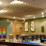 SoftGrid® Dome acoustical system installed in Beth El Congregation