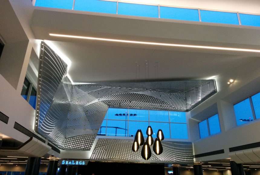 Arktura Graphic Perf® Scripted in LAX terminal