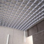 SoftGrid® Slope acoustical system closeup