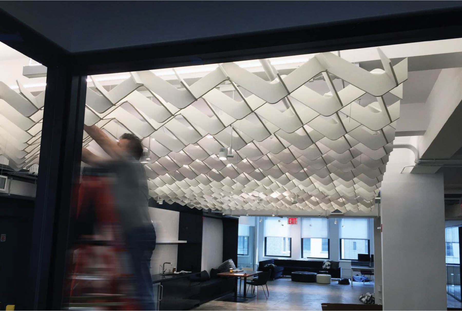 SoftGrid® Wave acoustical system