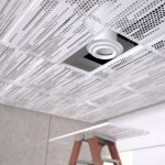 Arktura vapor Trail panels are removable for easy access to infrastructure.