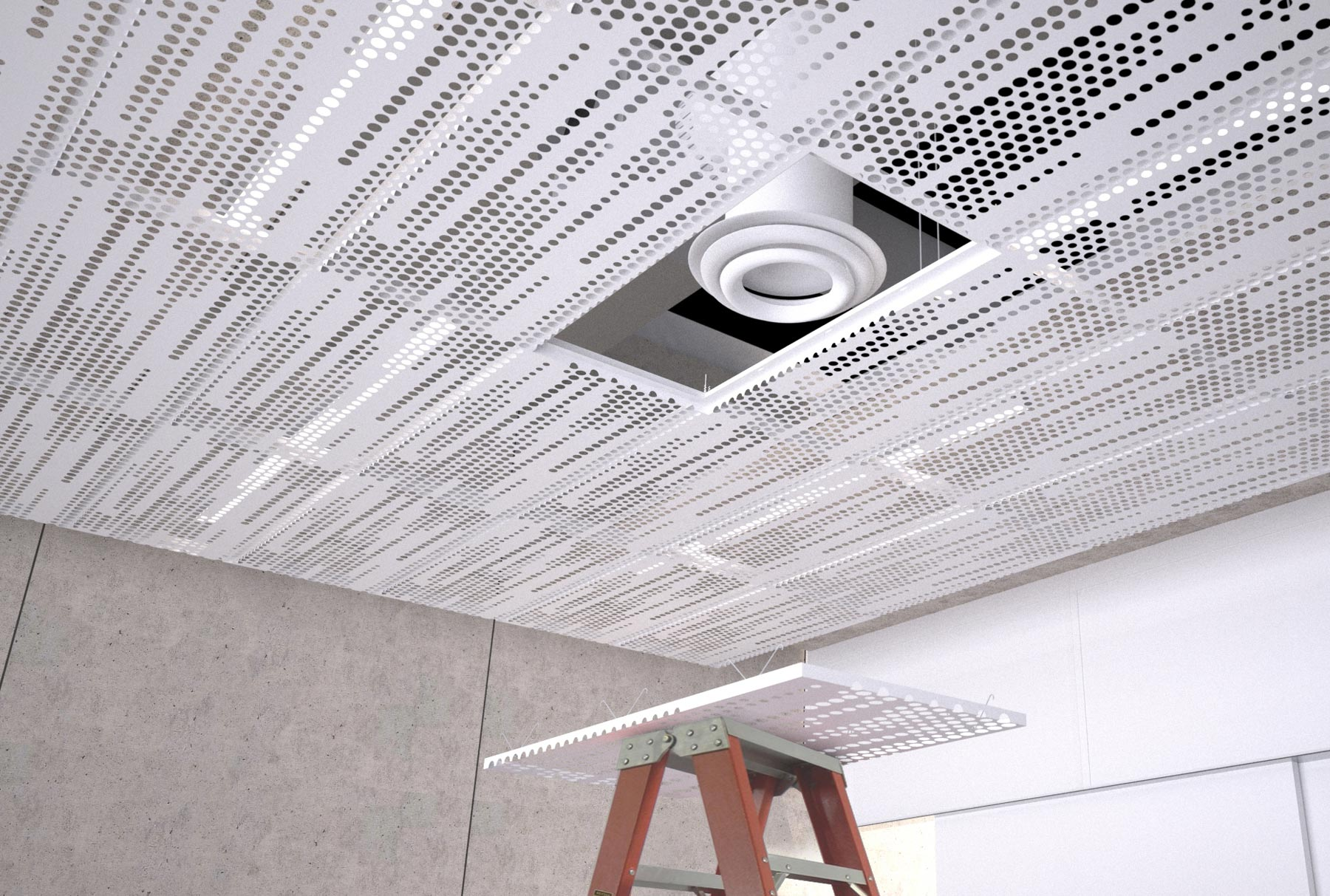 Arktura Vapor 174 Trail Standard Ceiling Systems Acoustical