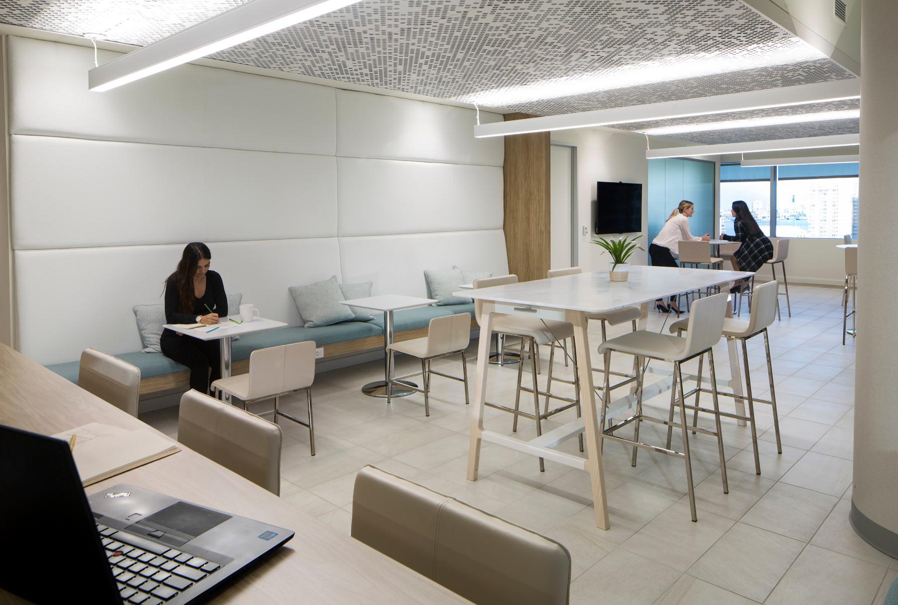 Arktura Vapor® Cluster Dense installed in office.