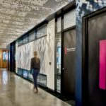 Arktura Vapor® Cluster Dense installed in hallway.