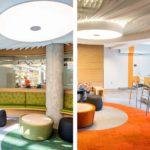 Arktura Atmosphera® Contour installed in office