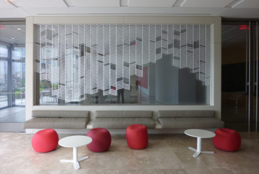 Arktura Solution Studio perforated screen in APA
