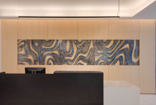 Arktura Solution Studio organic metal wall for Colfax