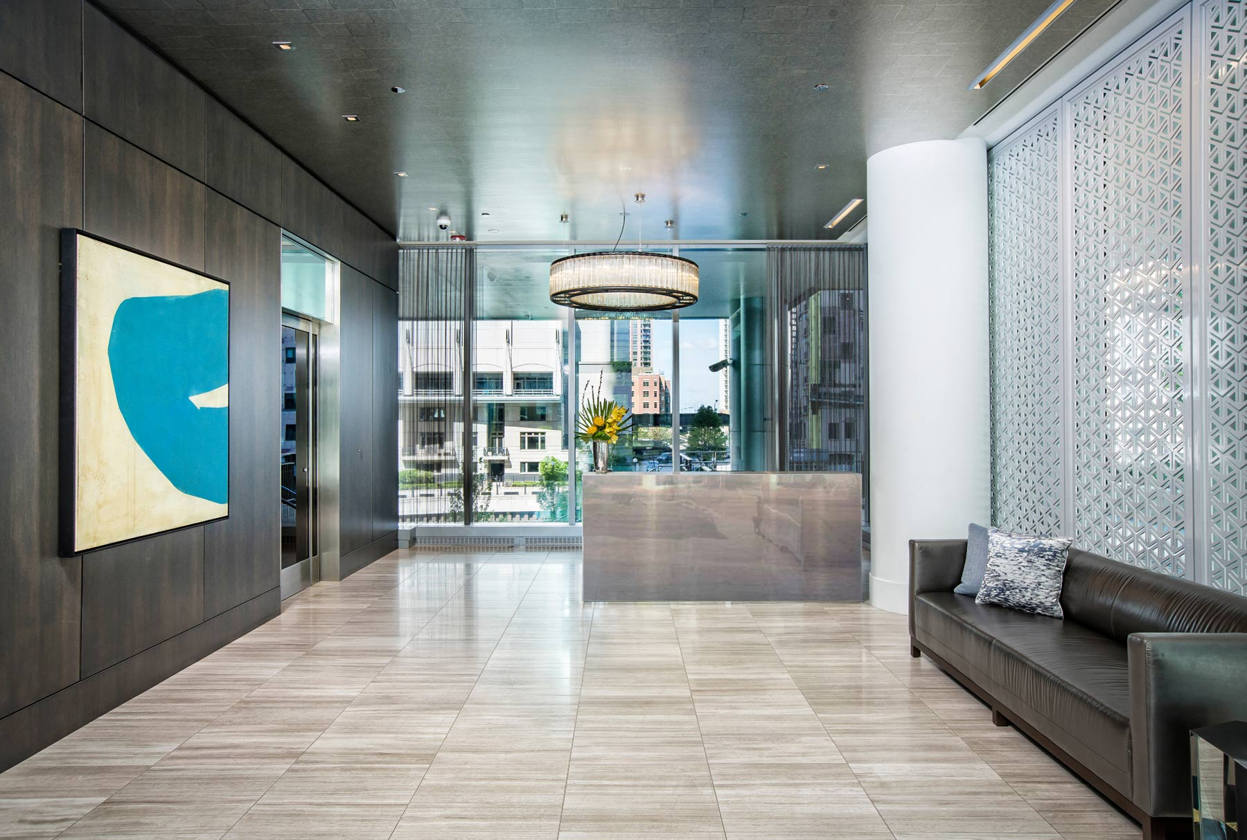 Arktura Solution Studio perforated screen for Wolf Point