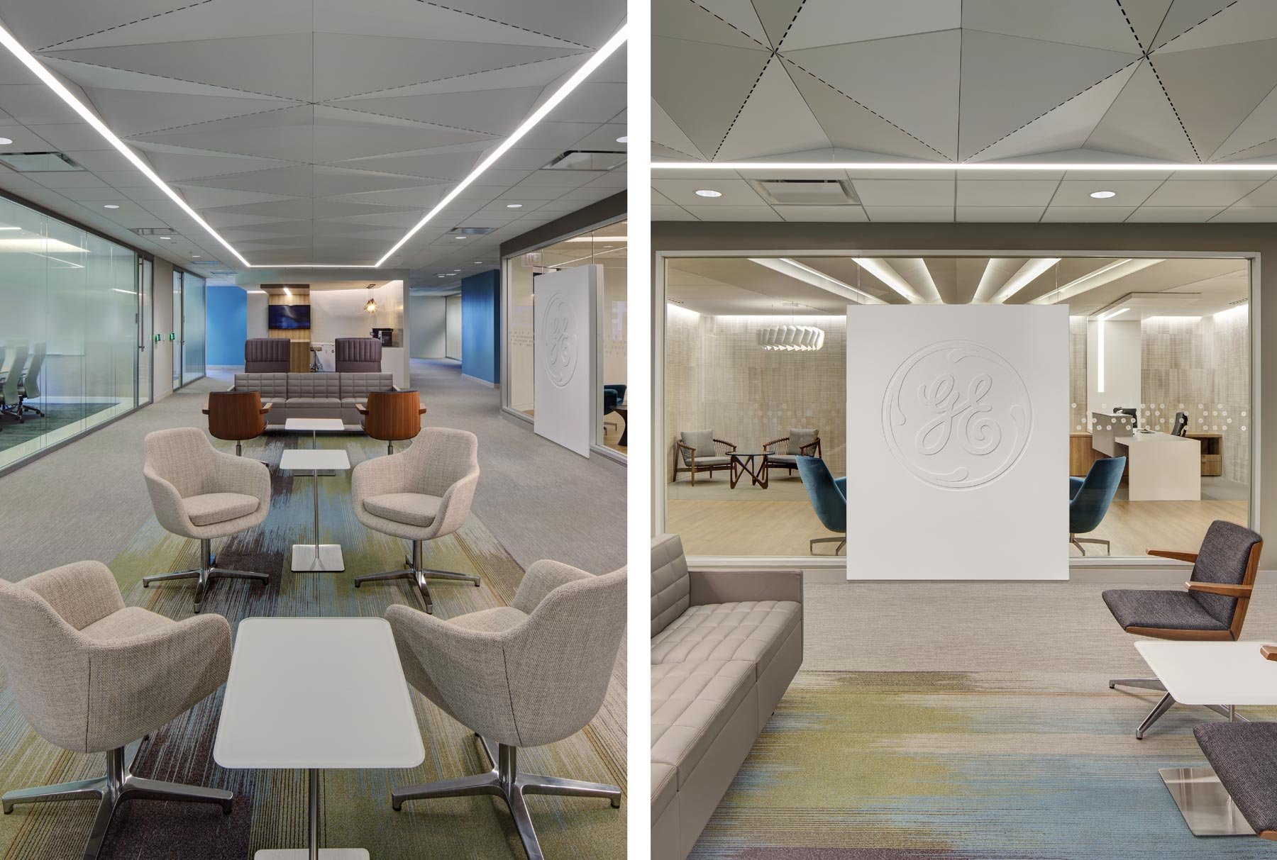 Arktura Solution Studio ceiling in GE Health