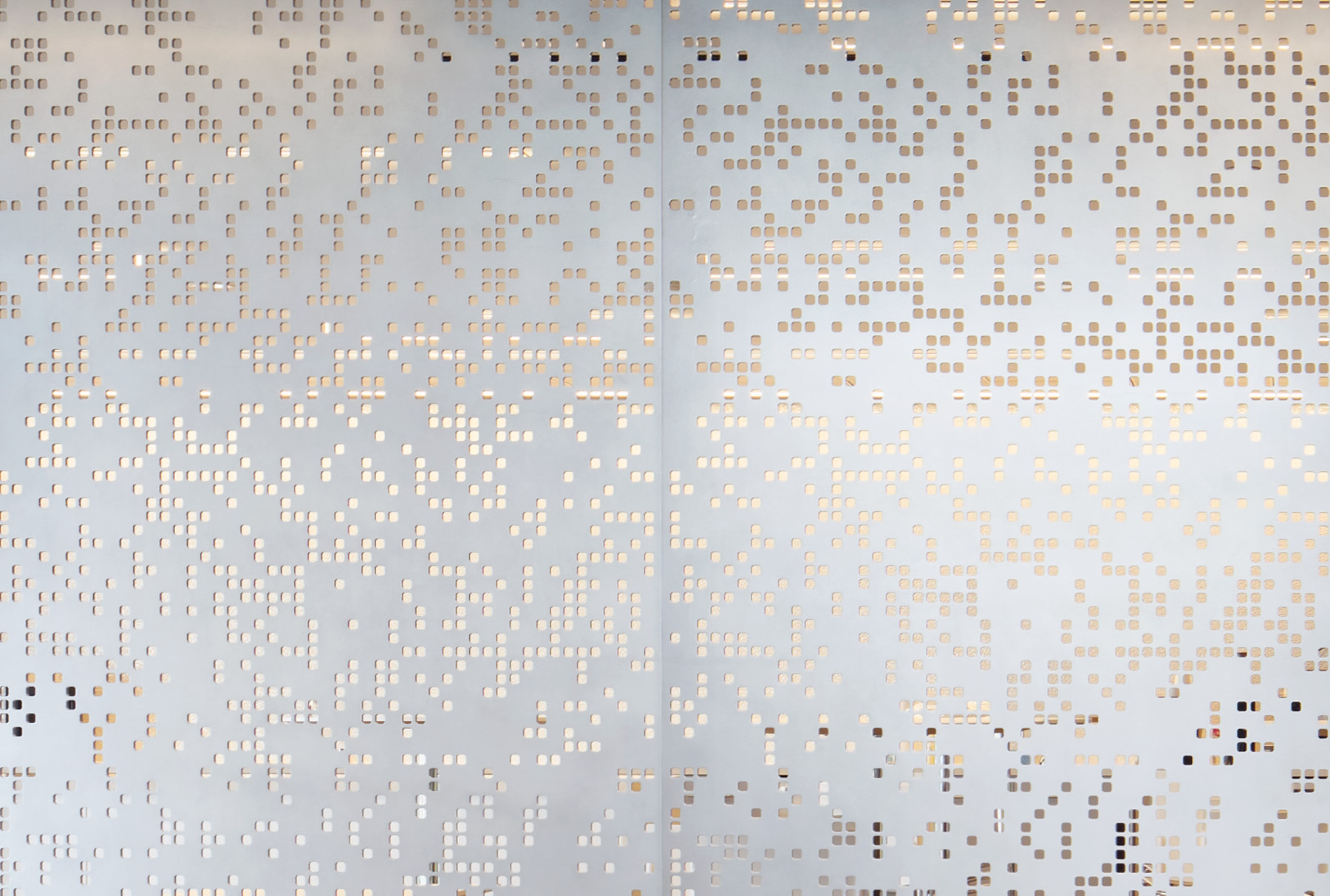 Arktura Solution Studio perforated screen for CME NYMEX