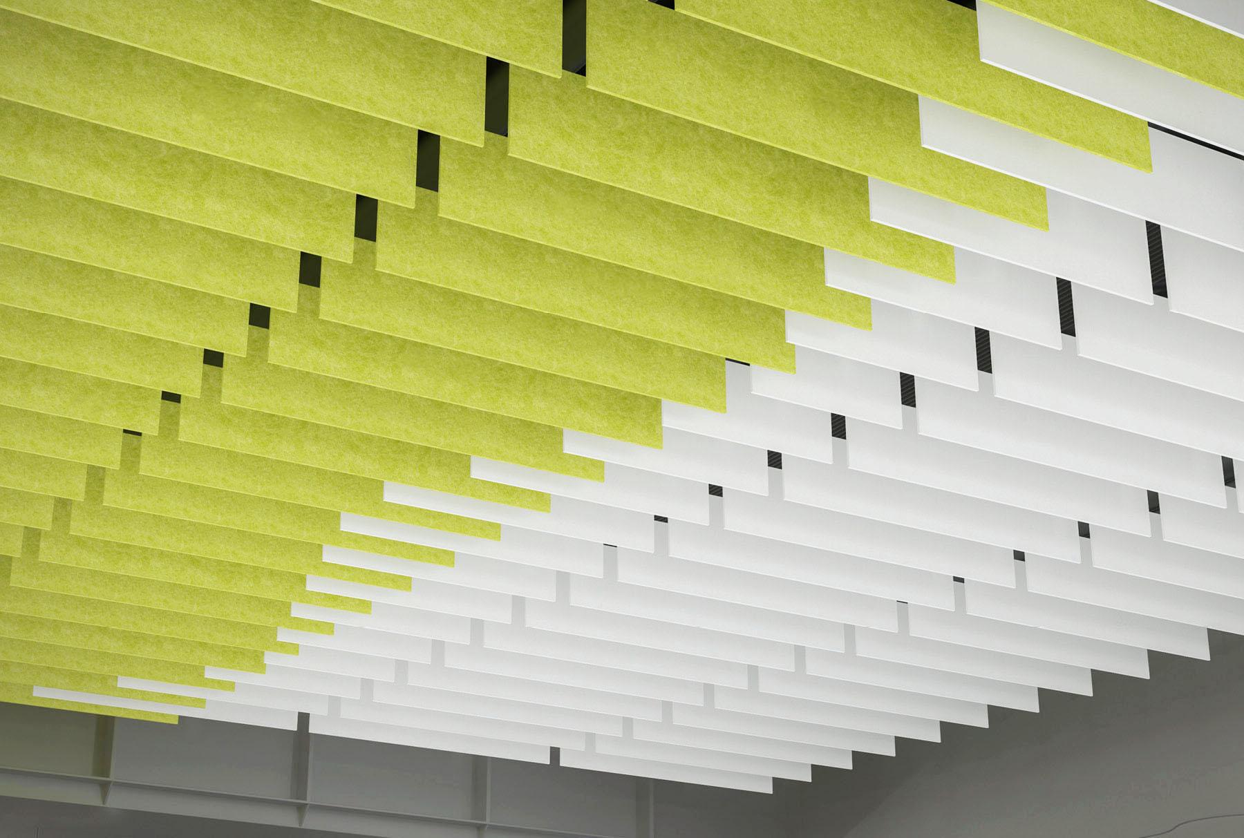 SoundEdge® acoustical system closeup