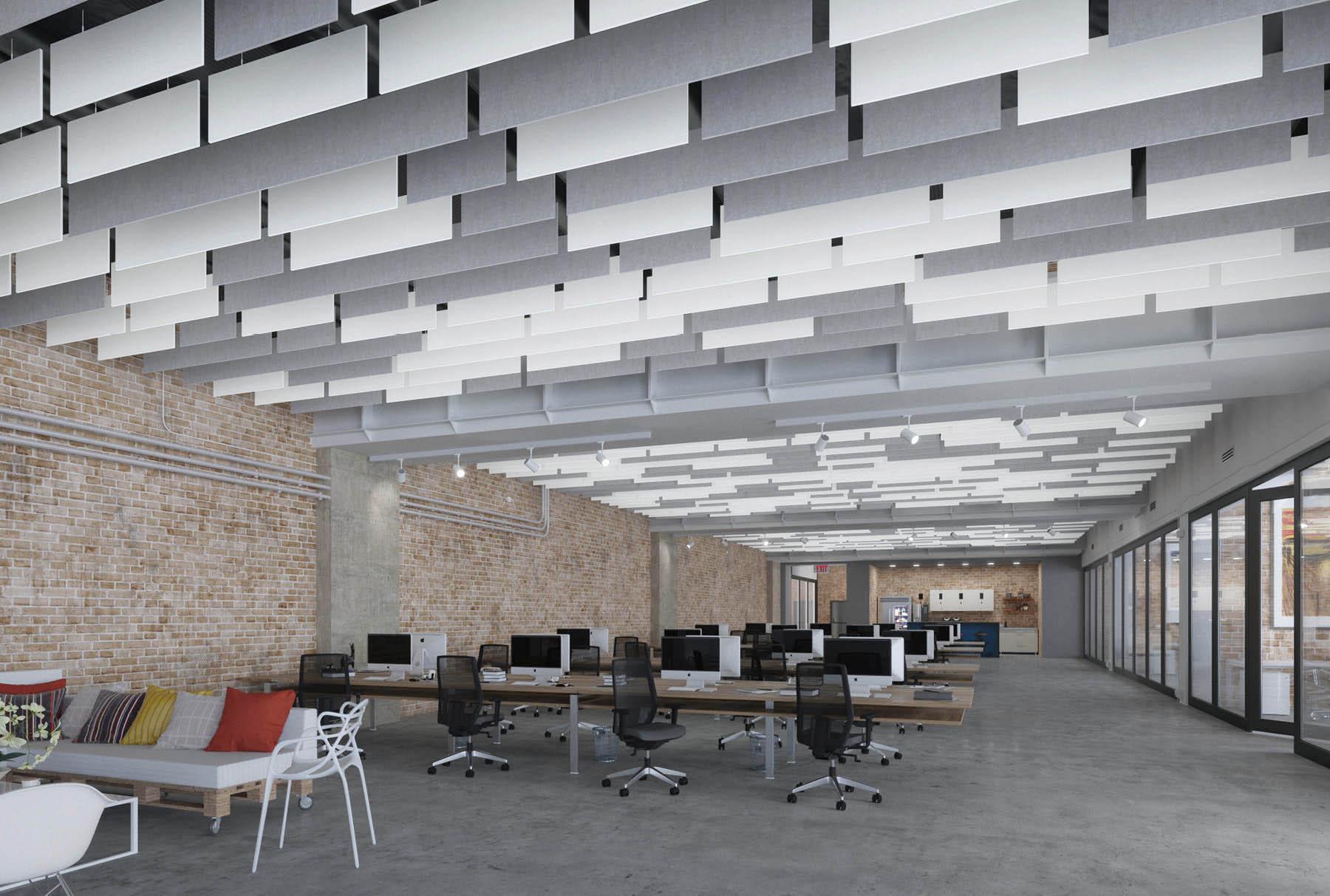 Современные материалы для создания тишины в офисе от Ecophon