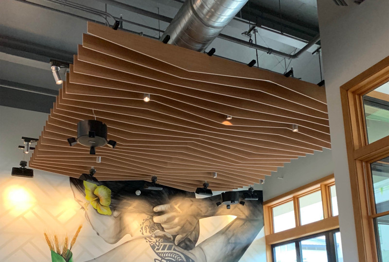 Make a Stunning Statement With Acoustic Wood Ceiling Panels