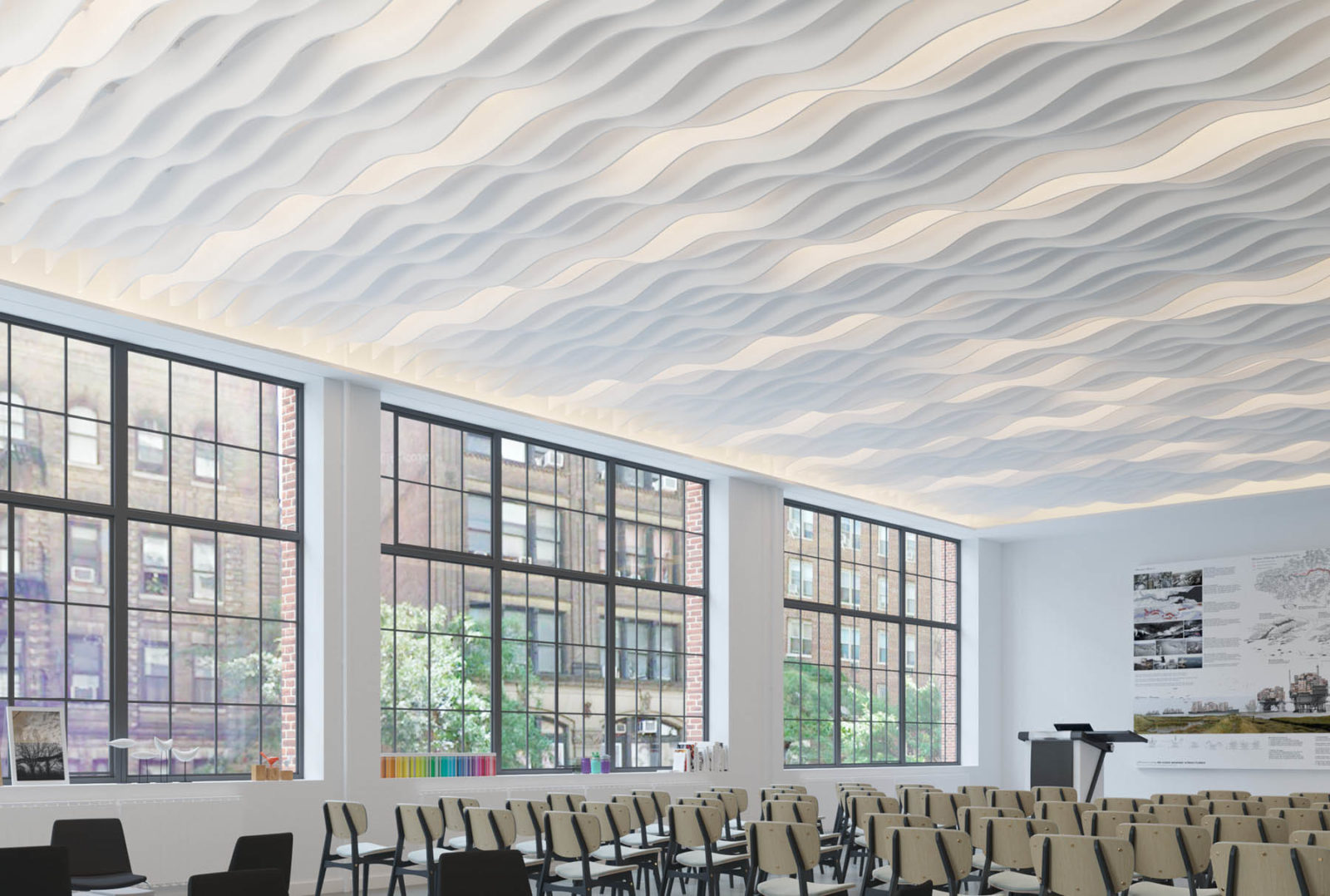Most Effective Acoustic & Illumination Commercial Ceilings Products