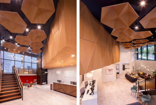 Acoustic Wood Ceiling Panels - Mix and Match Products for Ultimate Flexibility