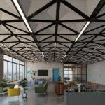 Arktura TriSoft® Dynamic installed in office