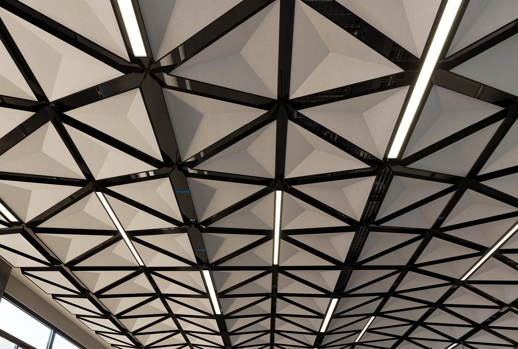 Arktura Trisoft 174 Dynamic System Customizable Ceiling System