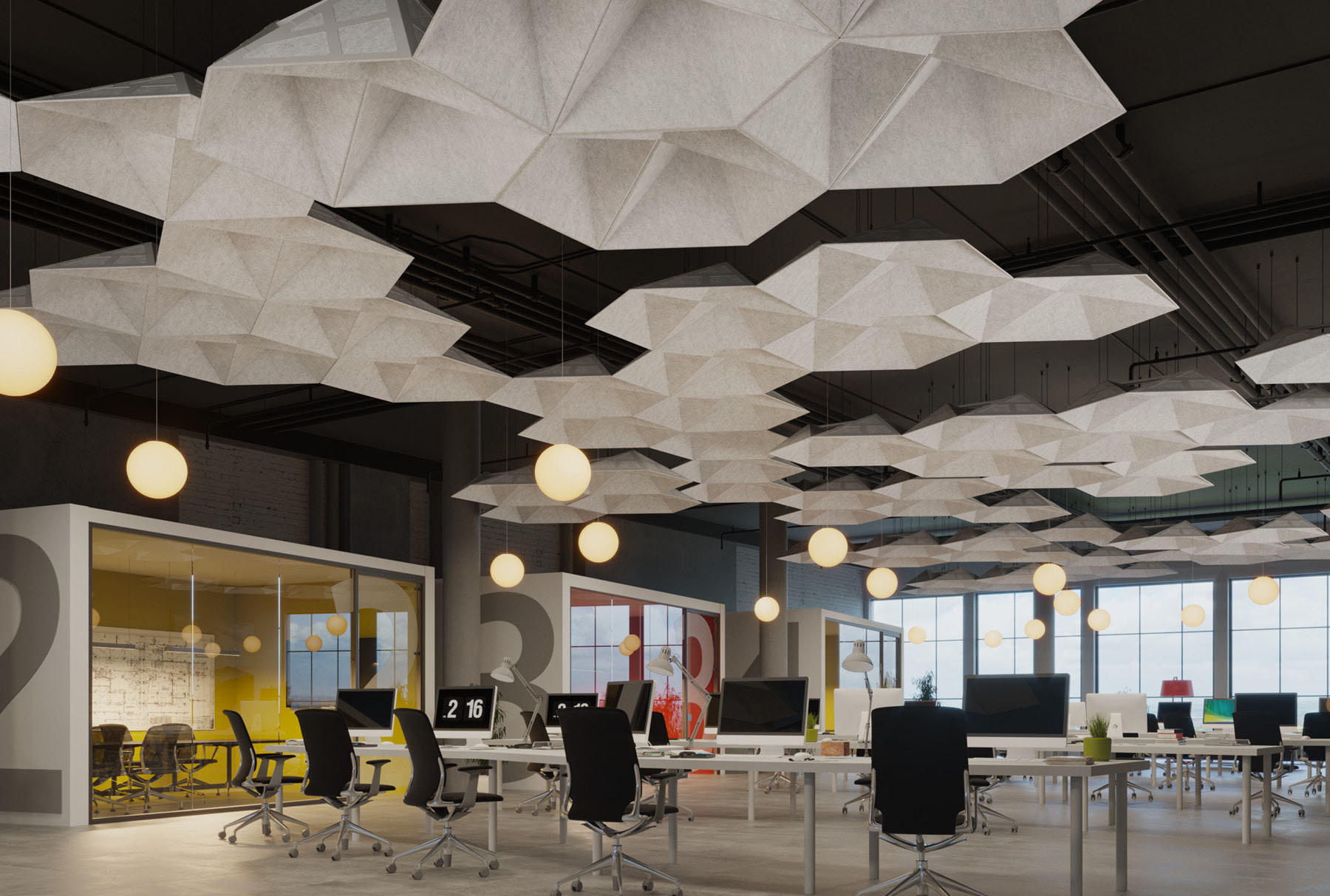 Arktura Soundstar 174 Standard Ceiling Systems Acoustical
