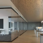 Arktura Vapor® Byte installed in office.