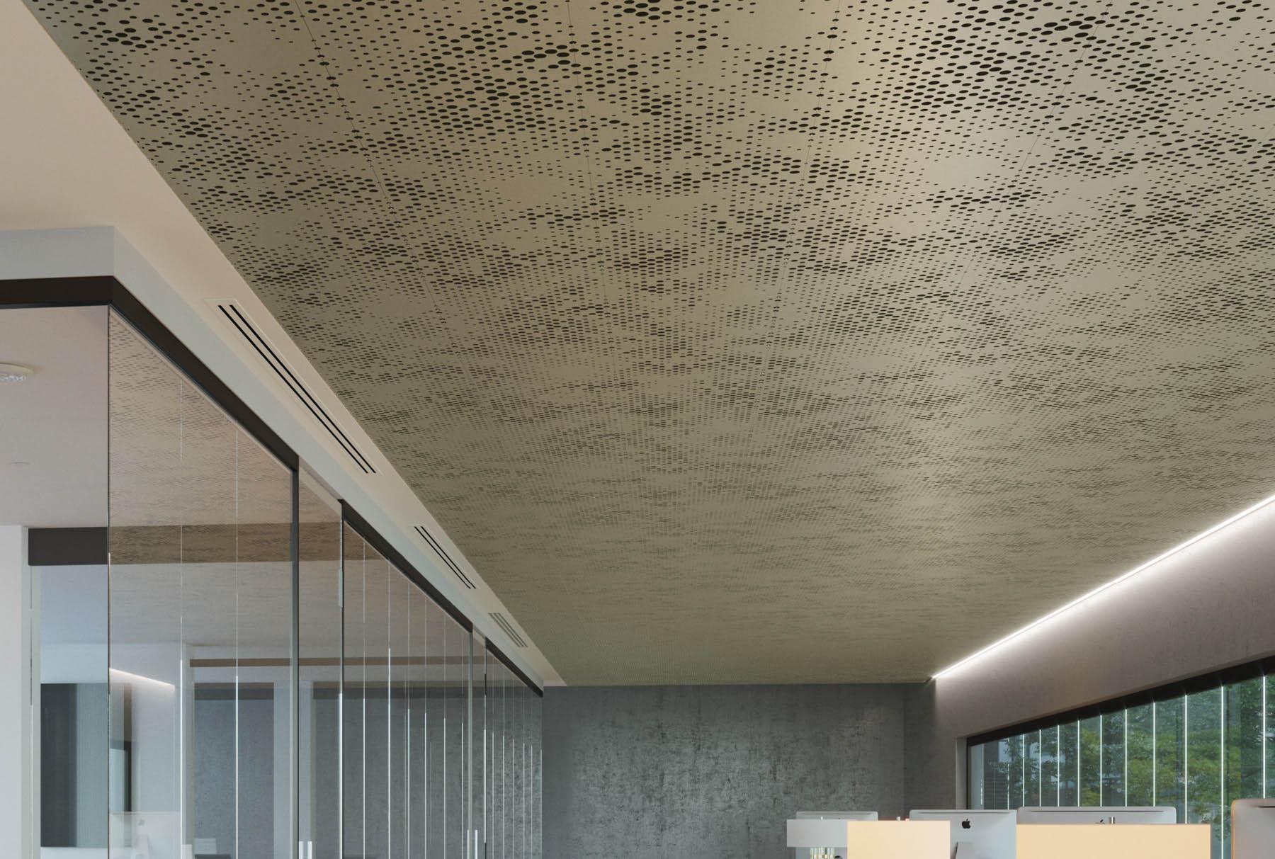 Arktura Vapor®Cumula installed in office.
