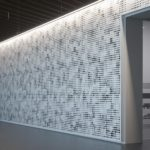Arktura Vapor® Wall Pixel installed in hallway.