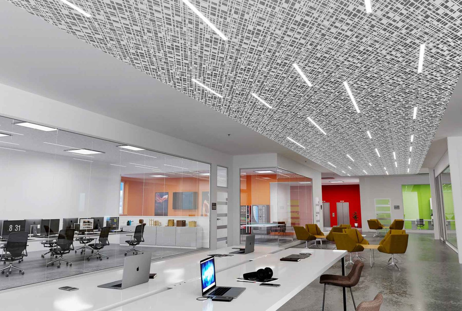 13 Office Ceiling Panel Design Ideas That Are Anything But Basic Arktura
